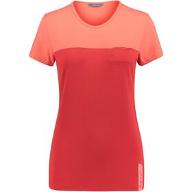 Meru Perama Jersey SS Shirt Women cayenne/cherry